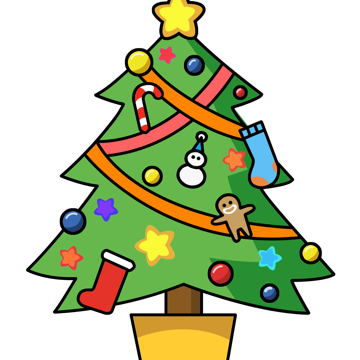 Merry clipart christmas tree ornament. The best free clip