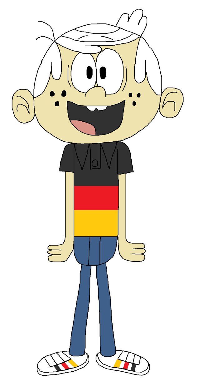 German clipart costume german. Lincoln loud in typical