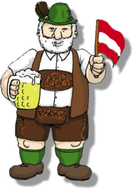 Germany clipart man german. Austria lederhosen and a