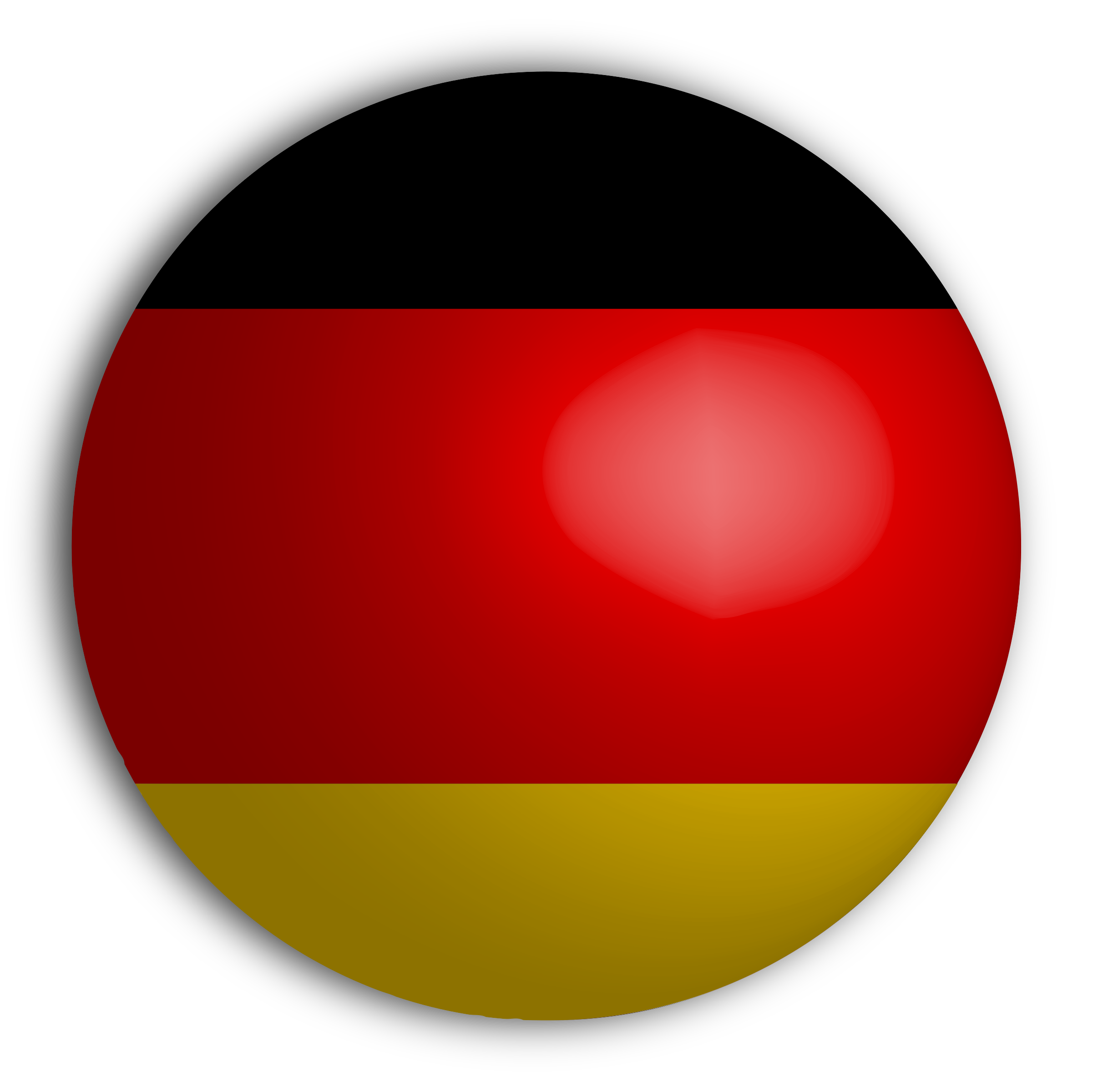 German flag png. Sphere icons free and