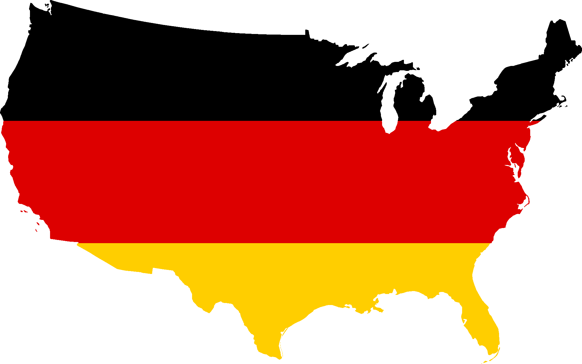 German flag png. File map of the