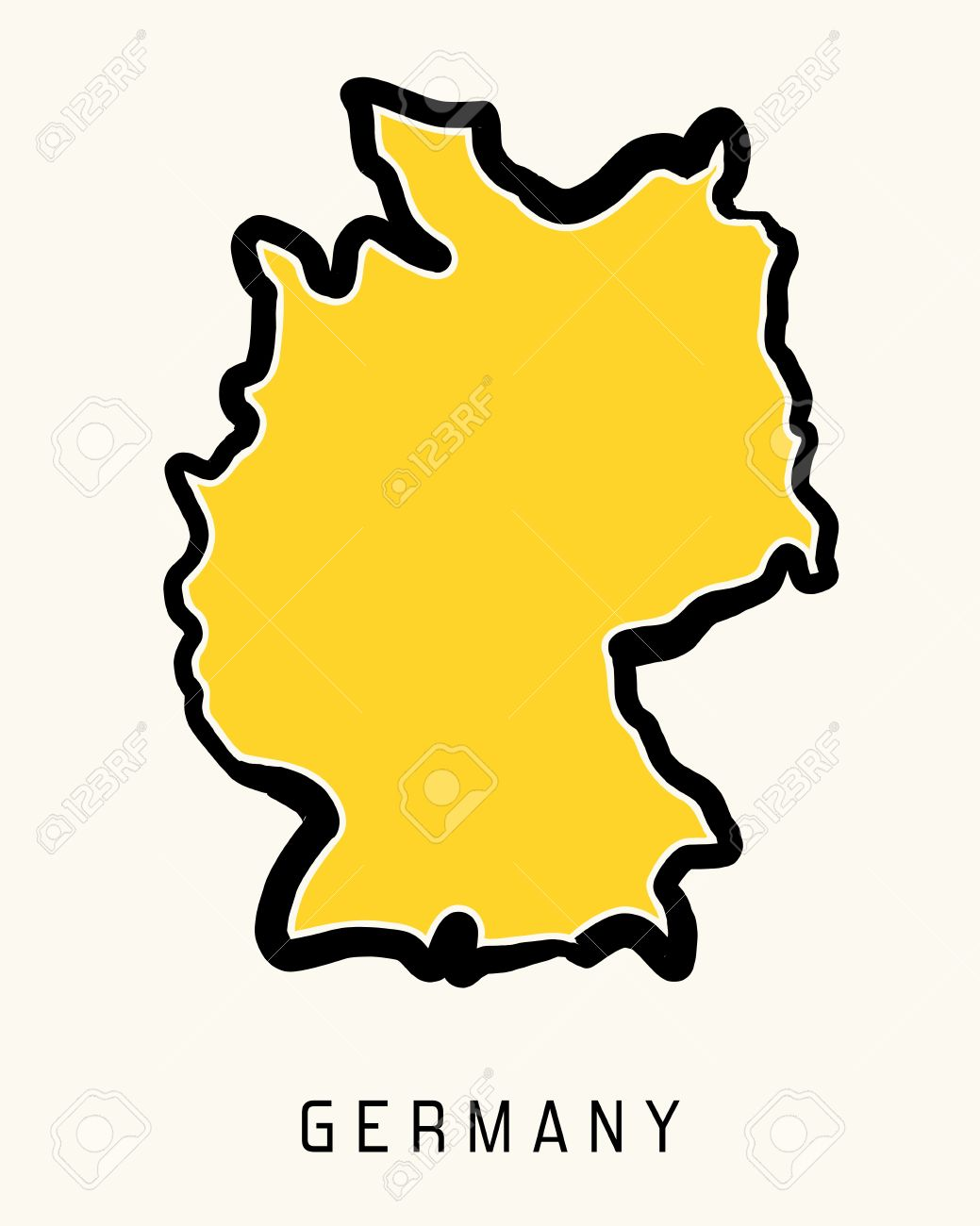 Germany clipart yellow. Cross country at getdrawings