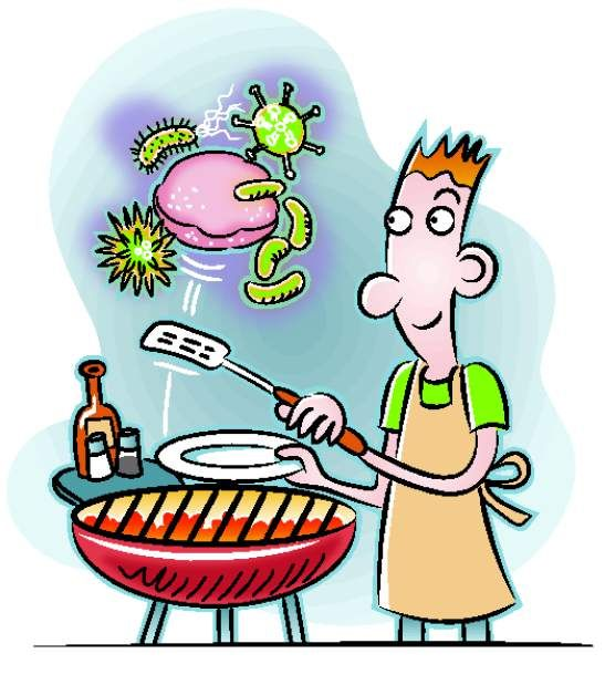 germs clipart food