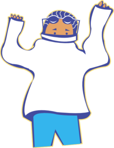 Getting dressed clipart. Small