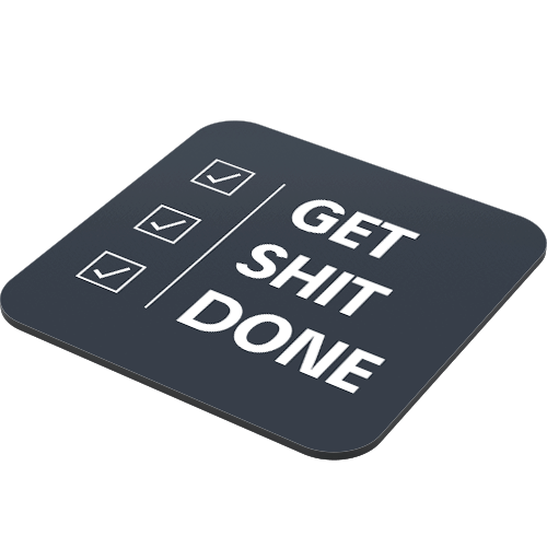 Get shit done png. Just stickers rs