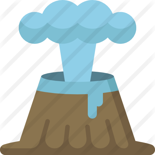 Geyser drawing clipart. Free nature icons