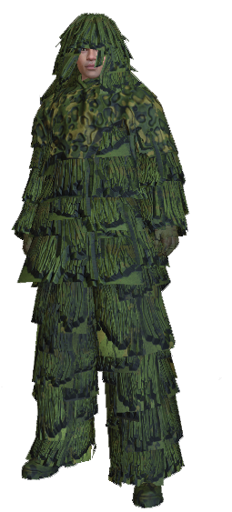 Ghillie suit png. Image rules of survival