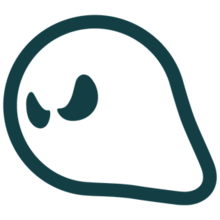Ghost clip playground. Games wikipedia logo png