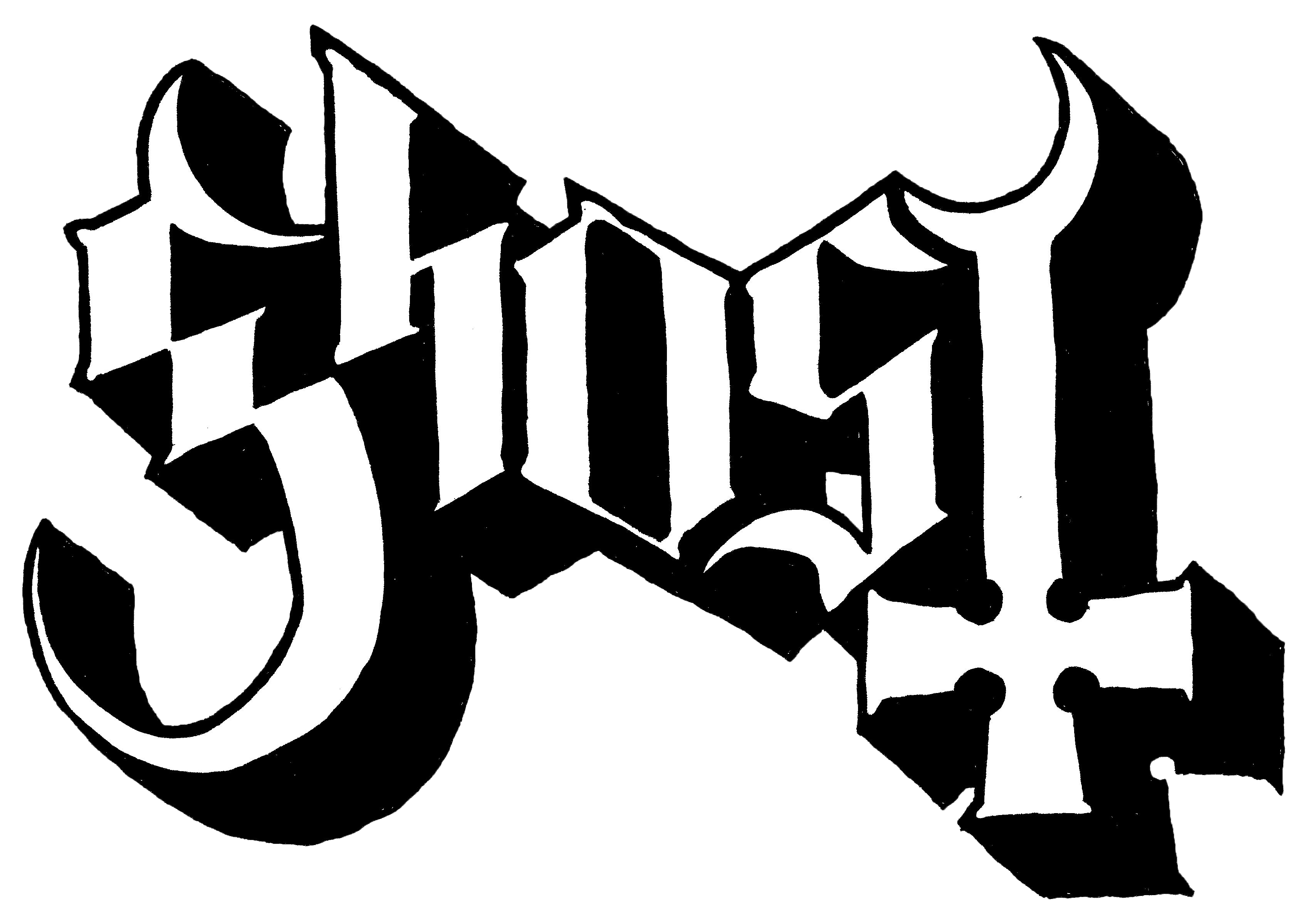 Ghost band logo png. M deano in america