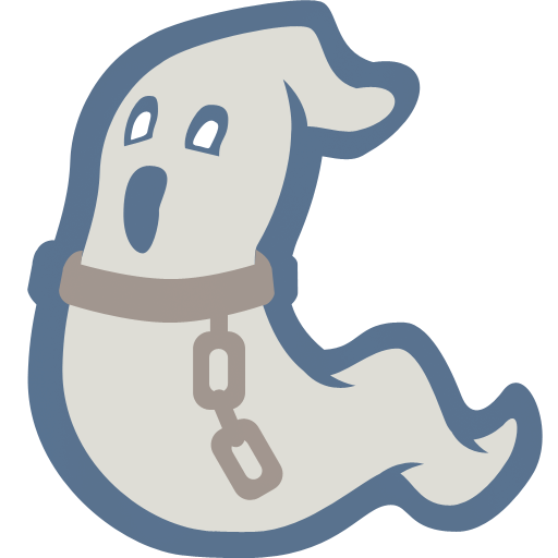 Ghost cartoon png. Icon halloween iconset iconcreme