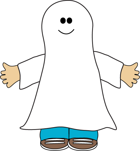 Ghost clip. Collection of cute