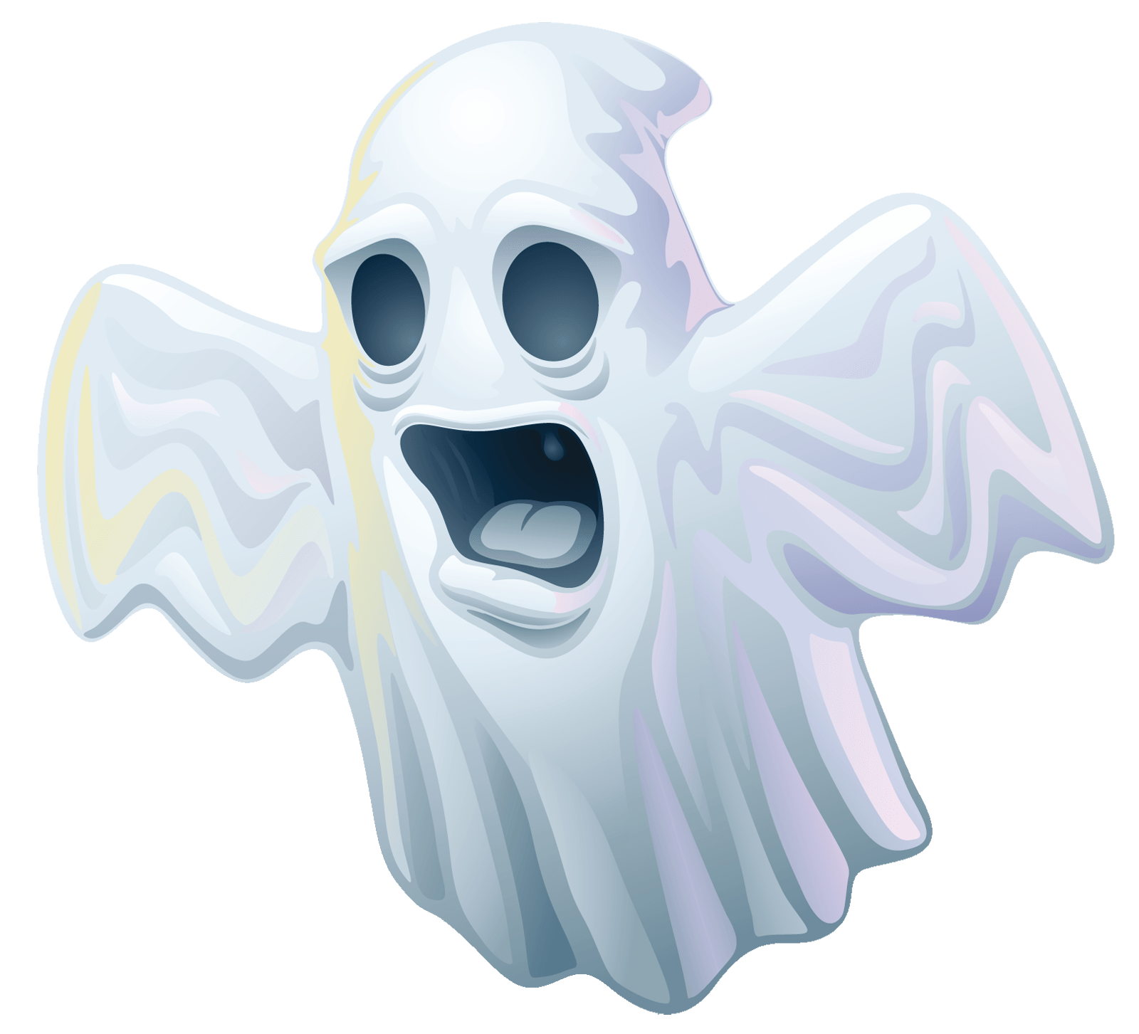 Ghost clip spooky. Halloween transparent png stickpng