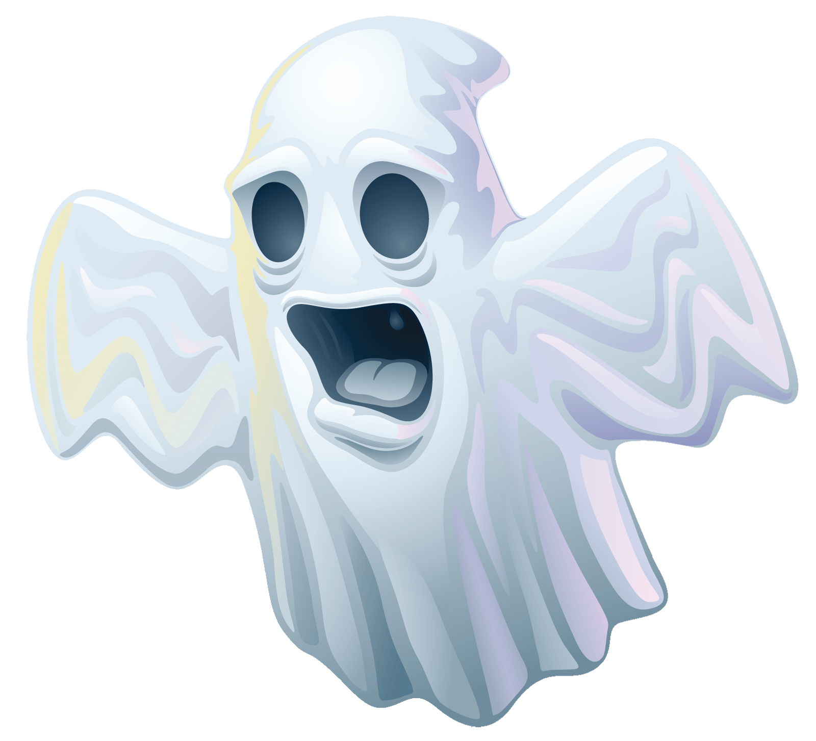 Creepy halloween clipart gallery. Cartoon ghost png graphic freeuse