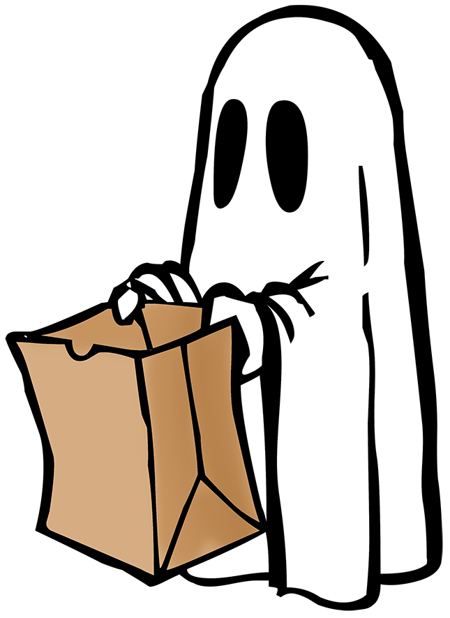 Halloween clipart cartoon. Ghost clip art th