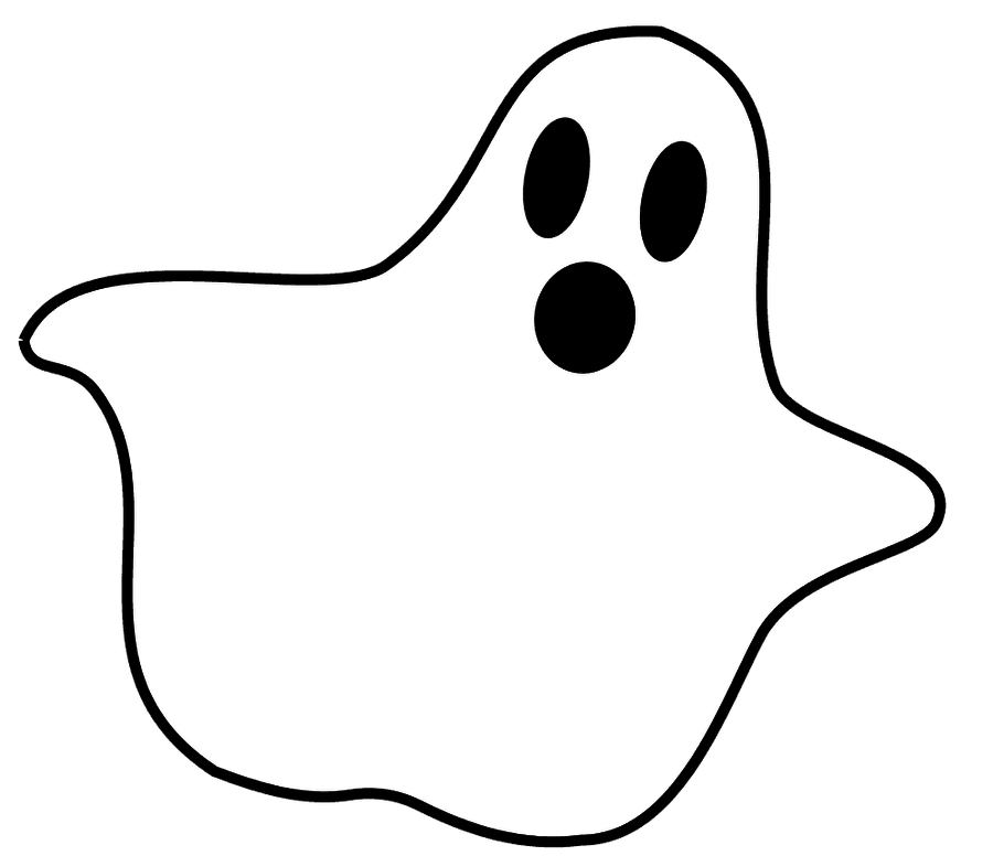 Ghost clip. Clipart art image