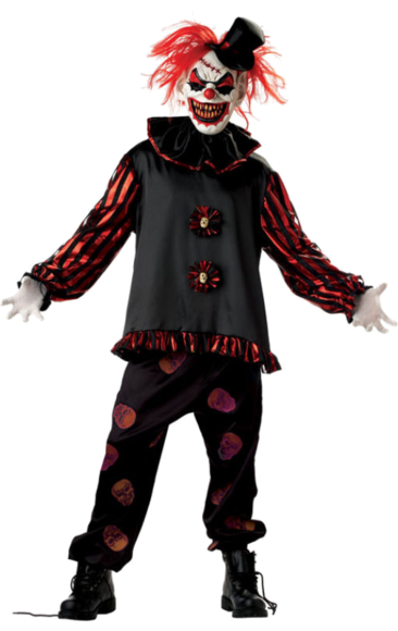 Ghost clown png. Adult carver the killer