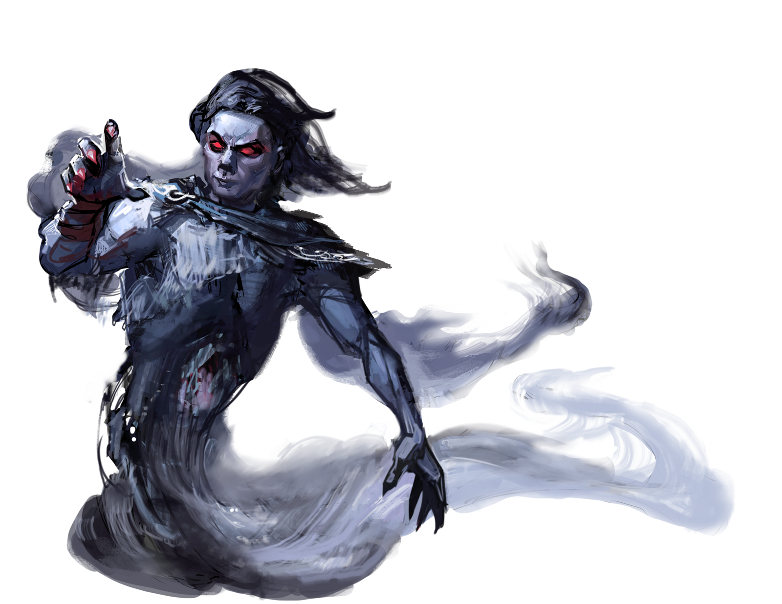 Ghost d&d png. Spectre nicole cardiff oni