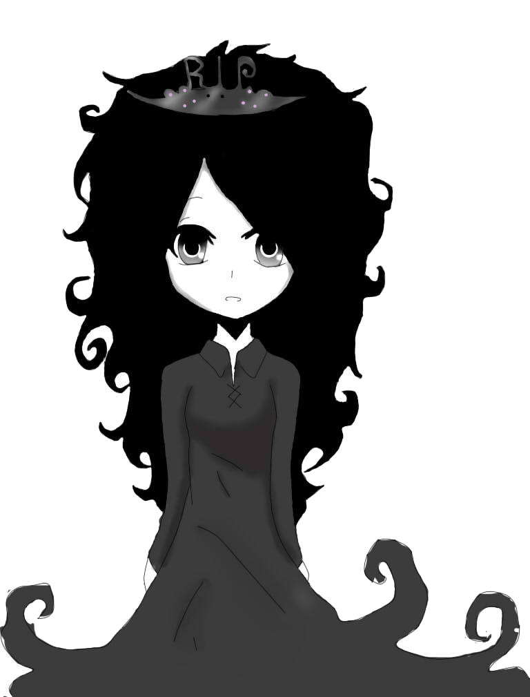 Ghost girl png. Anime by suigintouuchiha on