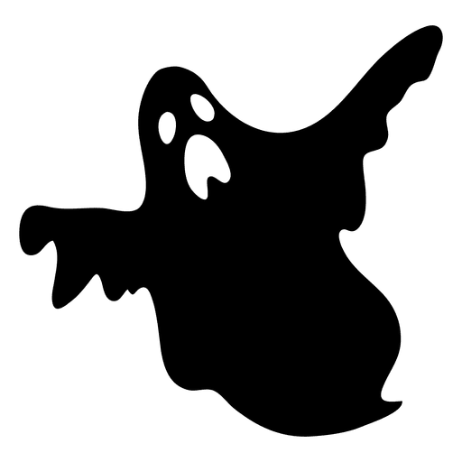 Ghostbusters svg silhouette. Black ghost transparent png