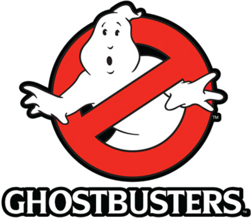 Ghostbusters logo png. Image real time fandub