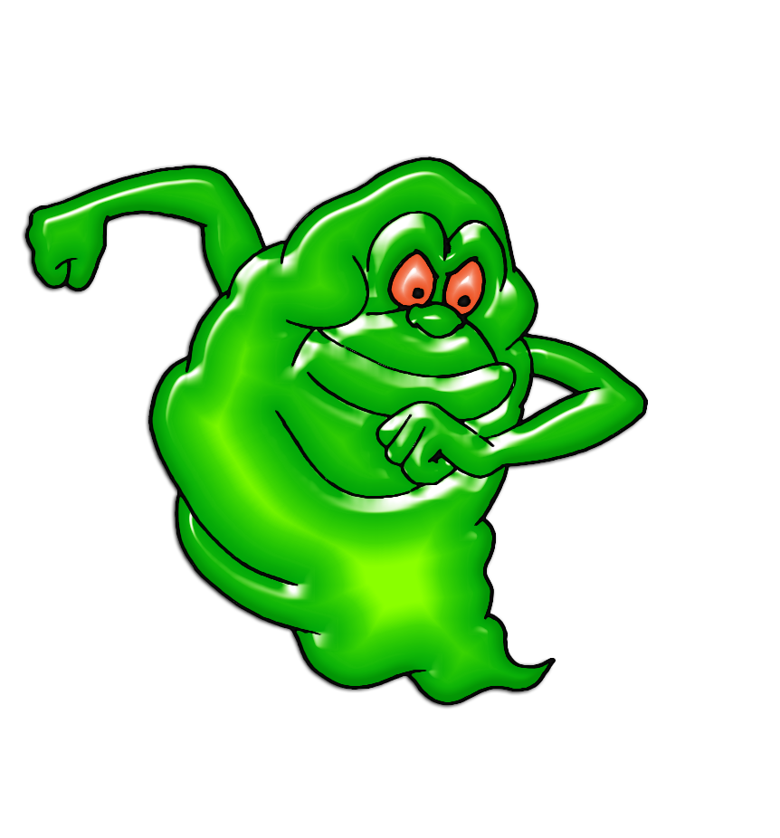 Slimer drawing character. Ghostbusters clipart at getdrawings