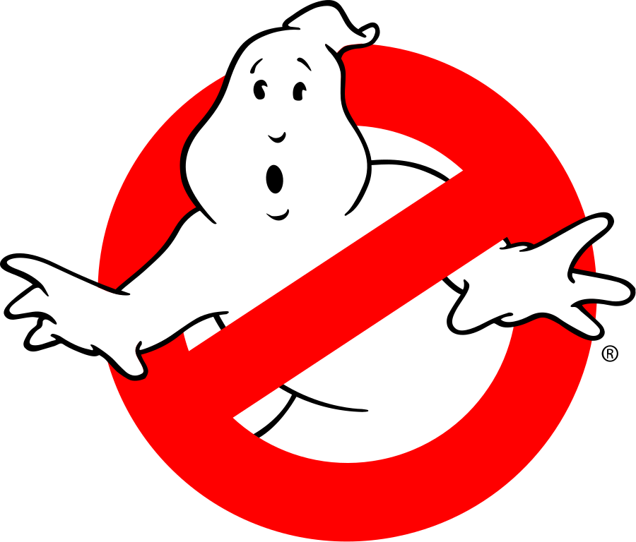 Ghostbusters svg silhouette. Png logo logotypes marks