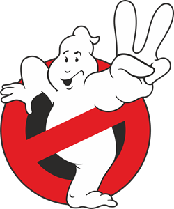 Ghostbusters vector. Logo eps free download