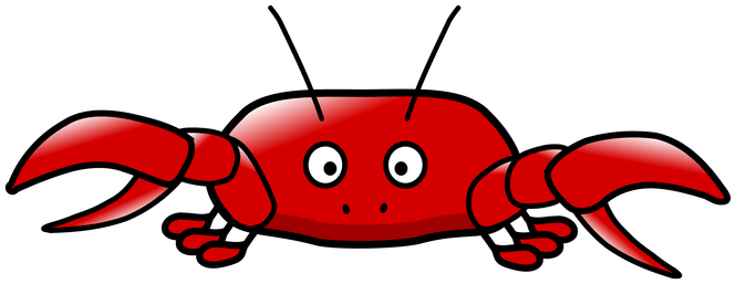 Giant crab png. Clipart graphics illustrations free