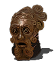 Dad mask png. Of the father dark