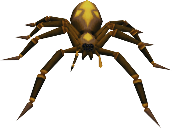Giant spider png. Image level runescape wiki