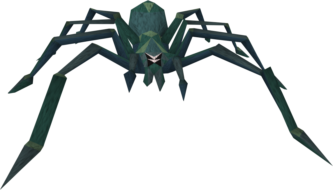 Giant spider png. Image crypt runescape wiki