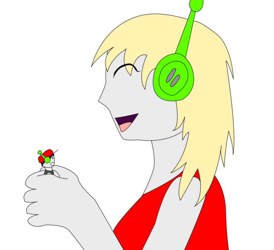 Giantess drawing plant. Cave story gt by