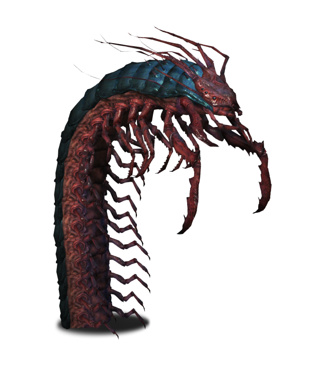 Giants drawing epic. Giant centipede witcher wiki