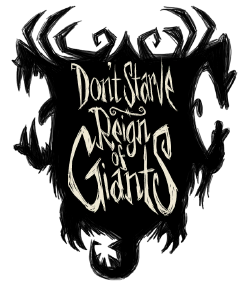 Don t starve reign. Giants drawing hidden vector library stock