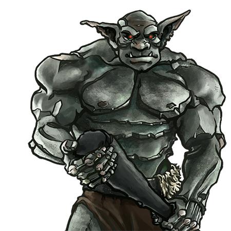 Giants drawing orc. Troll wesnoth units database