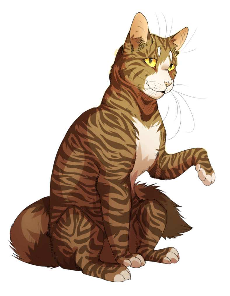 Leafpool by dannoitanart deviantart. Vector cats tabby cat clip art freeuse library