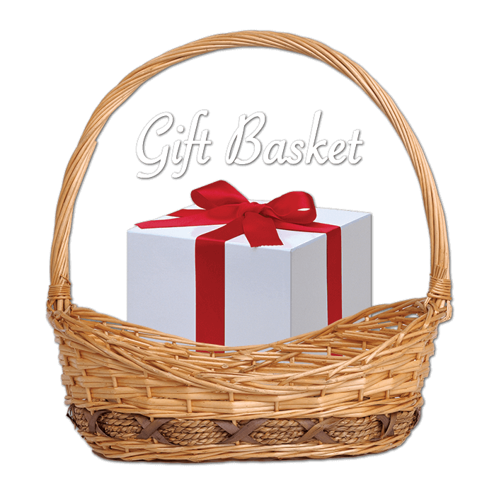 Gift basket png. Donations frankfort historic business