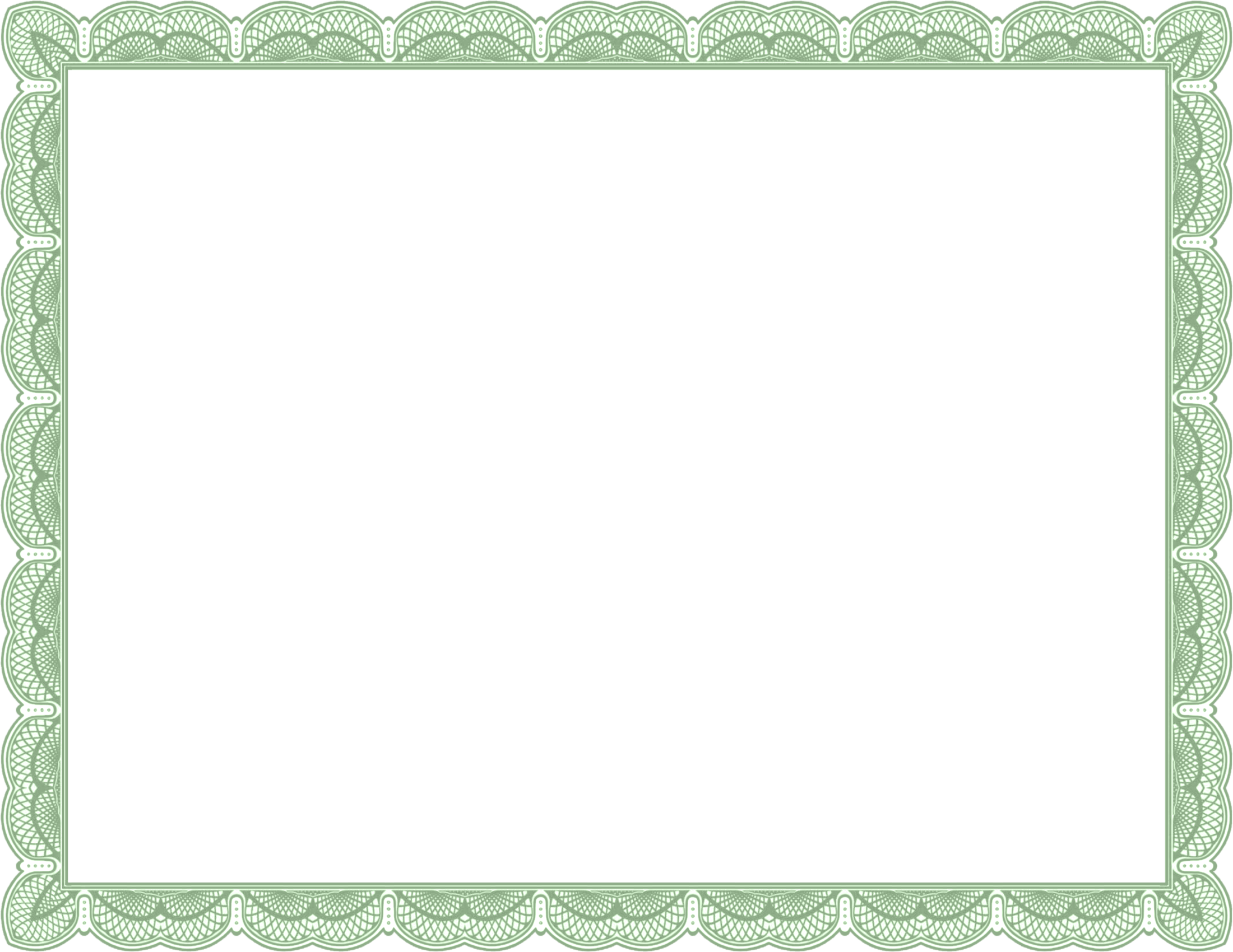 Gift certificate border png. Outstanding effort best templates