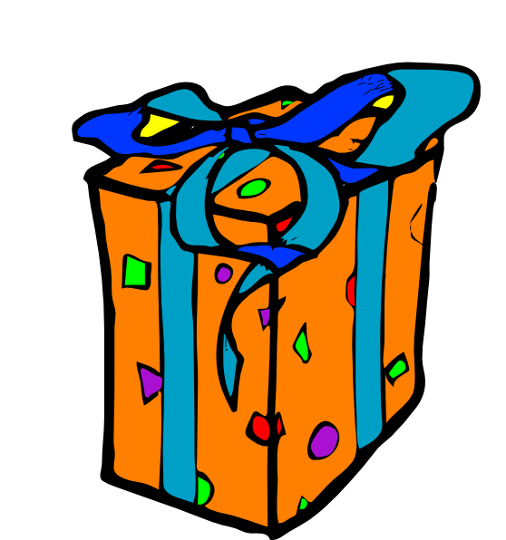 Gift clipart. Free panda images