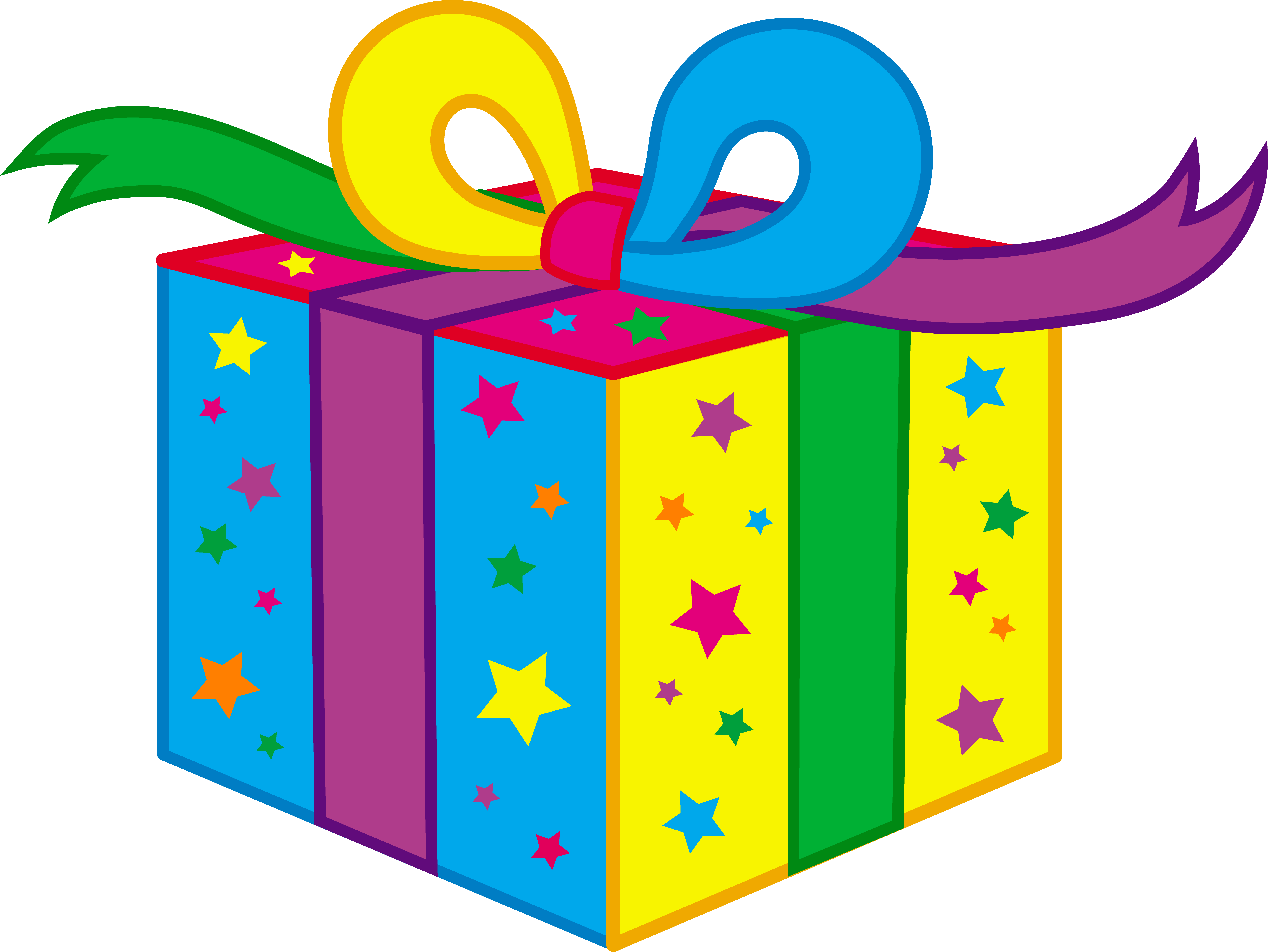 Gift clipart. Birthday
