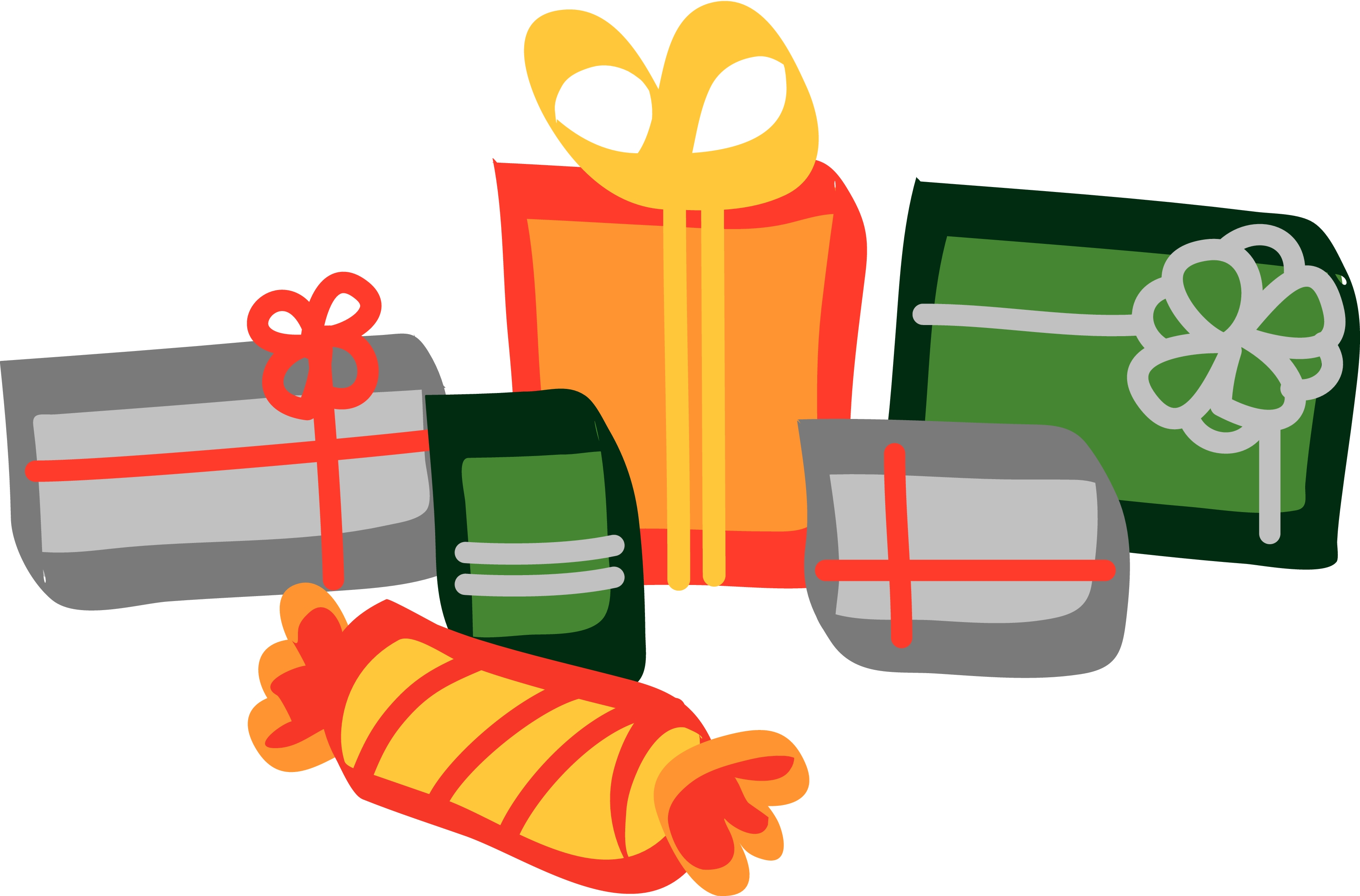 Presents clipart lot presents. Christmas clip art best