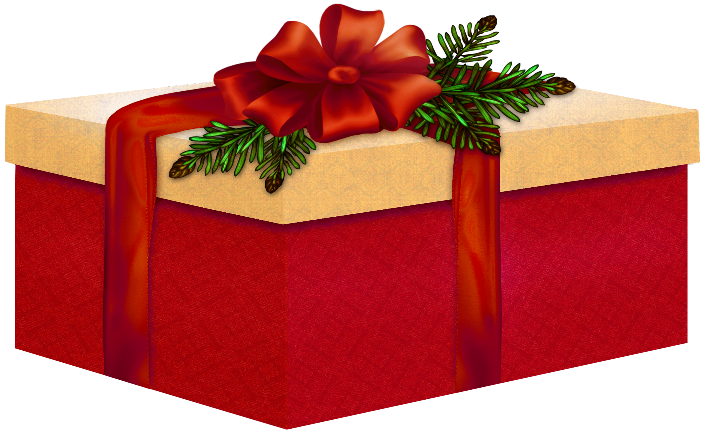 open christmas present png