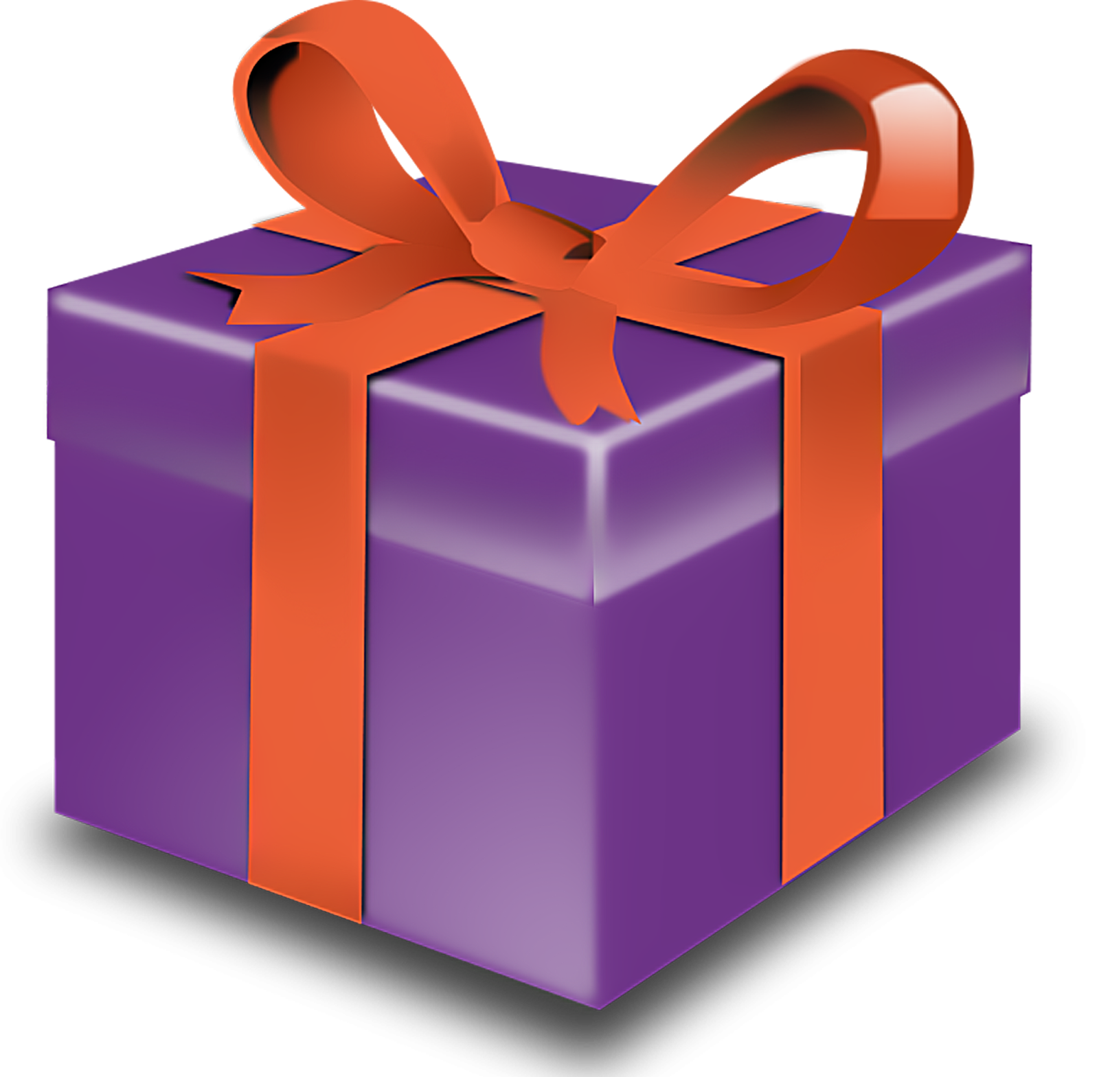Gift clipart presant. Present box at getdrawings