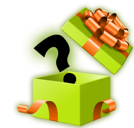 Gift clipart prize. Mystery png transparent images