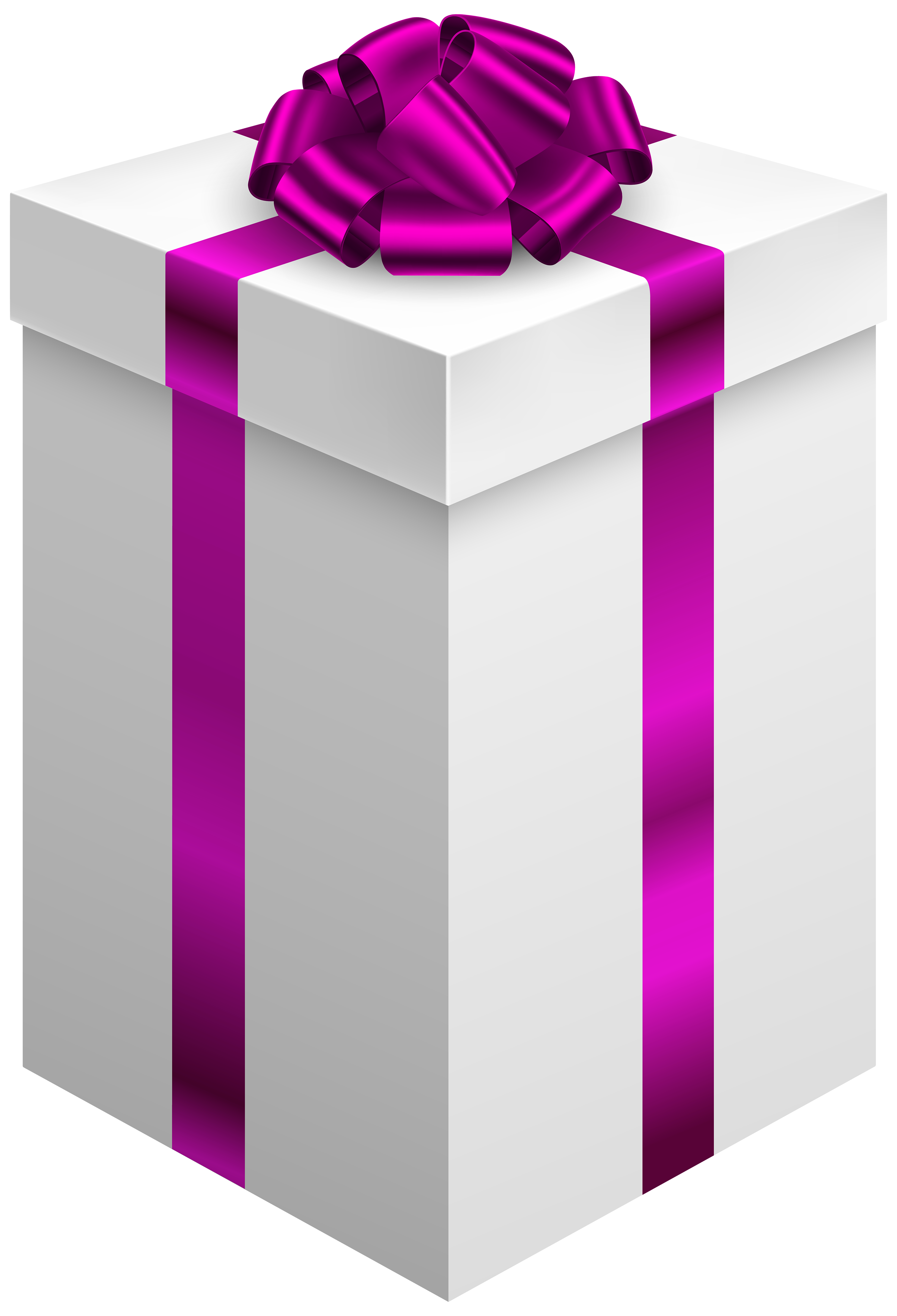 Gift clipart special gift. Box with purple bow