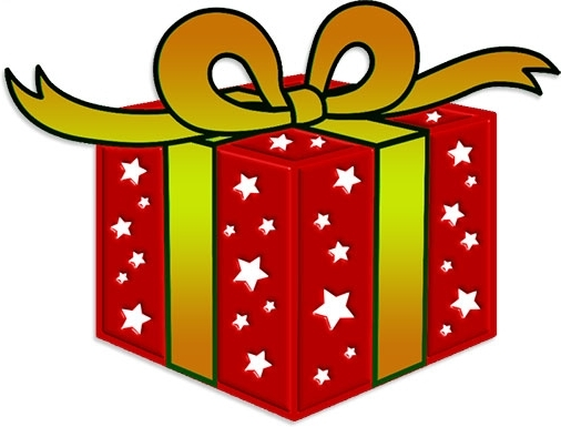Gift clipart special gift. Christmas at getdrawings com