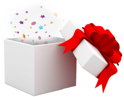 Gift clipart surprise. Box free more png