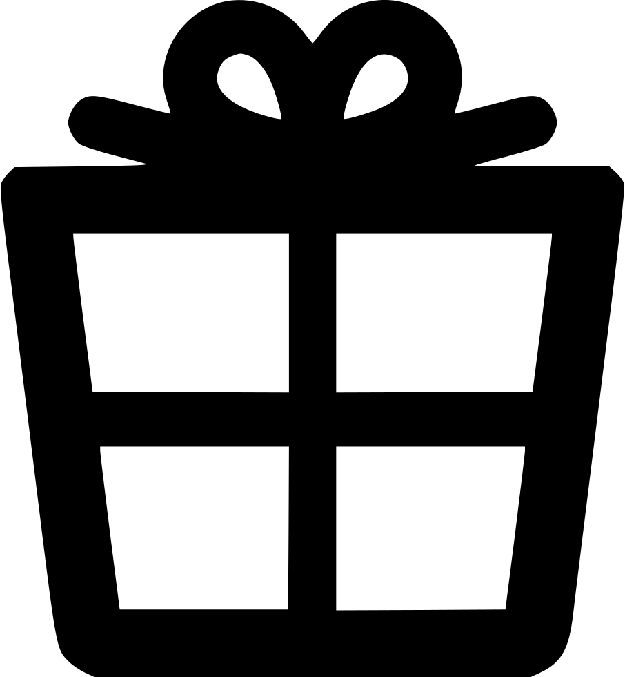 Gift outline png. Present alt svg icon