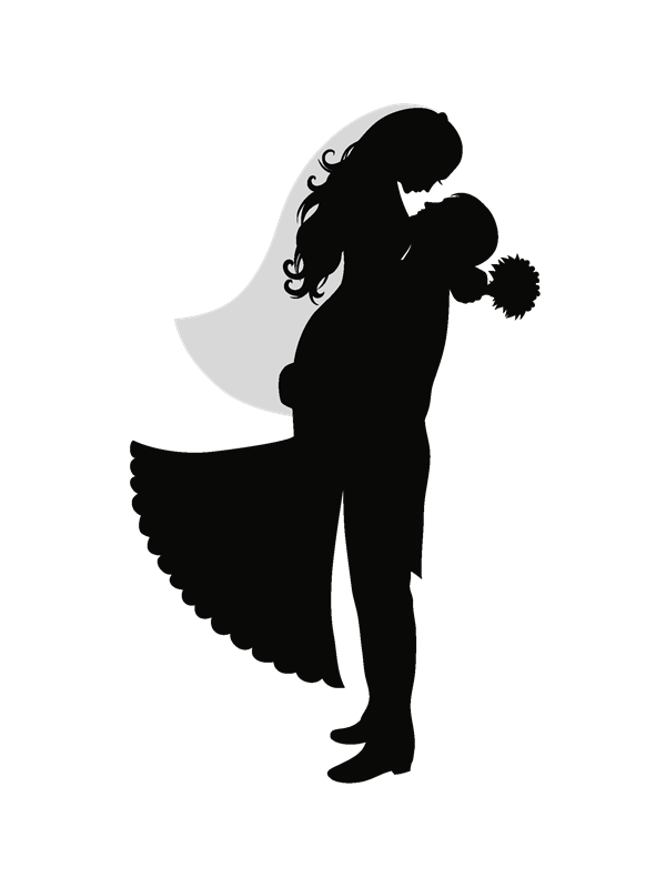 Gift silhouette png. Boda pinterest grooms bodapng