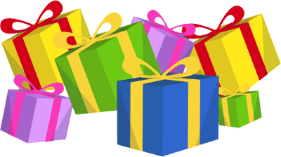 Presents clipart lot presents. Free christmas and toys